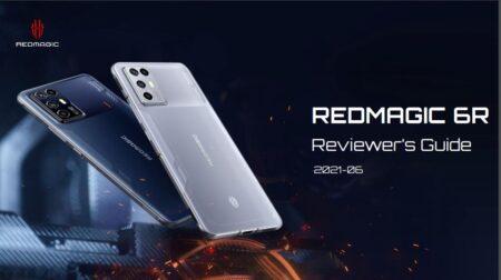 リフレッシュレート144Hz・Snapdragon 888搭載 6.67インチゲーミングスマホ Red Magic 6R 登場!