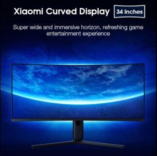 【クーポンで$442.99】140Hz対応、34インチ・ 3440×1440解像度Xiaomiのゲーミングカーブディスプレイ!