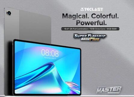 Teclast T40 Plus 登場!10.4インチ2KディスプレイにUNISOC T618を搭載で$179.99!