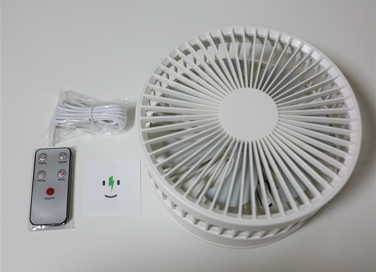 BlitzWolf® BW-F3 7200mAhバッテリー搭載 蓄電式 USB 扇風機レビュー
