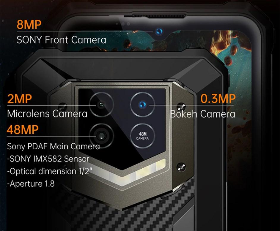 Oukitel WP15 レビュー  SONYセンサー搭載の48MPリアカメラと強力なフラッシュでより鮮明な写真を撮影可能