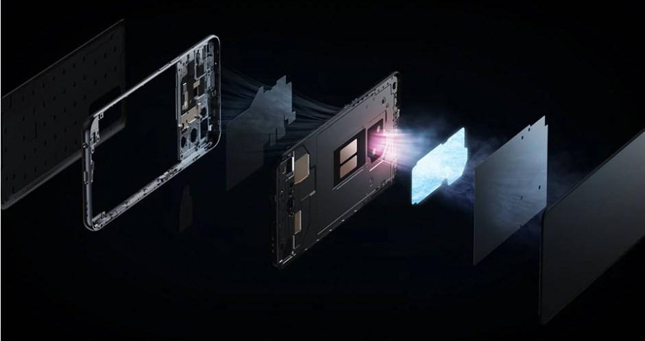realme GT Master Editionの特徴 蒸気室冷却システム搭載