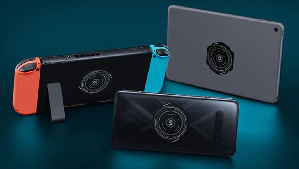 最強スマホクーラー Black Shark Magnetic Coolerは、スマホ以外では、スイッチやiPadなどのタブレットなどの熱暴走対策にもおすすめ
