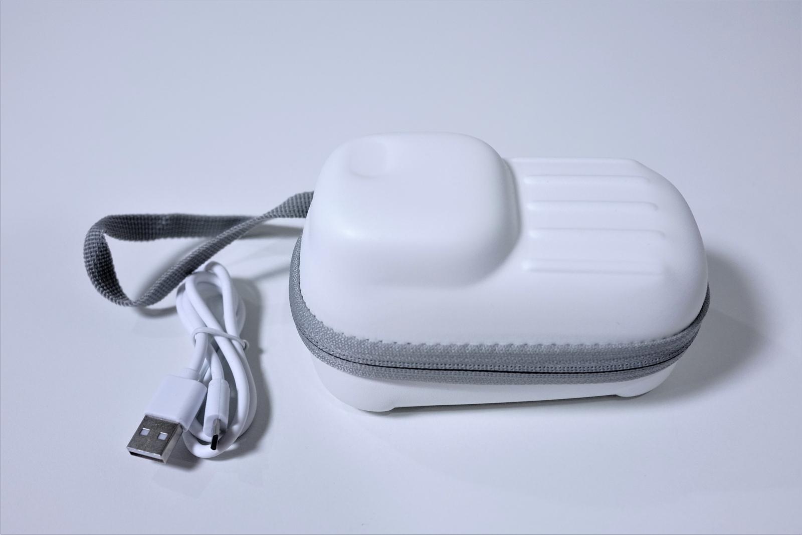 Dreamegg 首掛け扇風機 HD-E12 レビュー 持ち運びに便利なキャリングケースつき