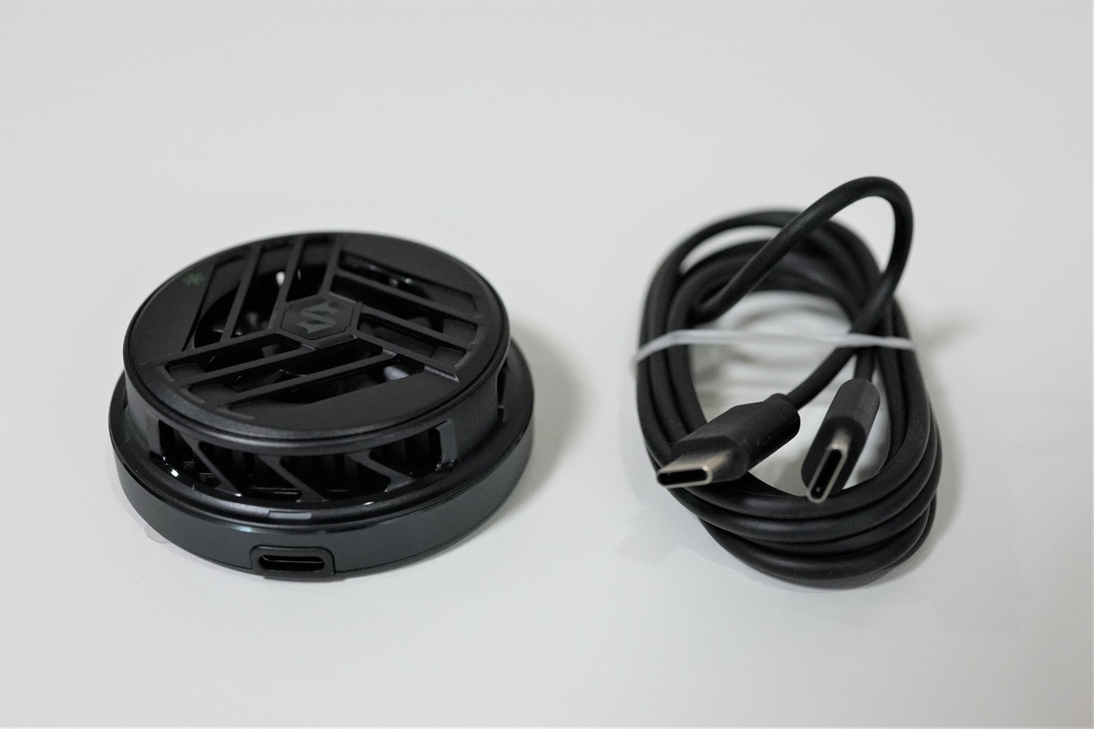 Black Shark Magnetic Cooler レビュー 外観デザイン・仕様スペック
