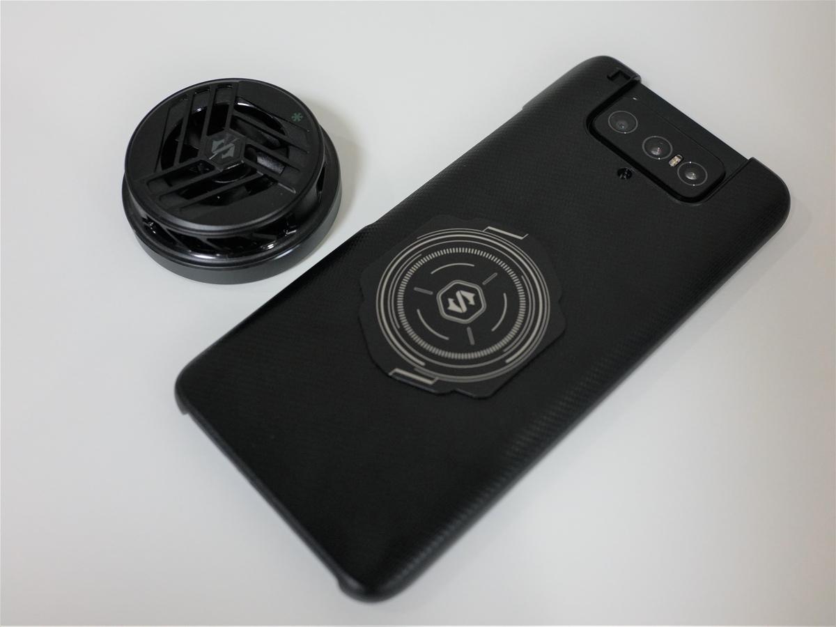 Black Shark Magnetic Cooler レビュー iPhone 12シリーズで使えるMagSafeに対応・メタルプレートでどんなスマホでも使える