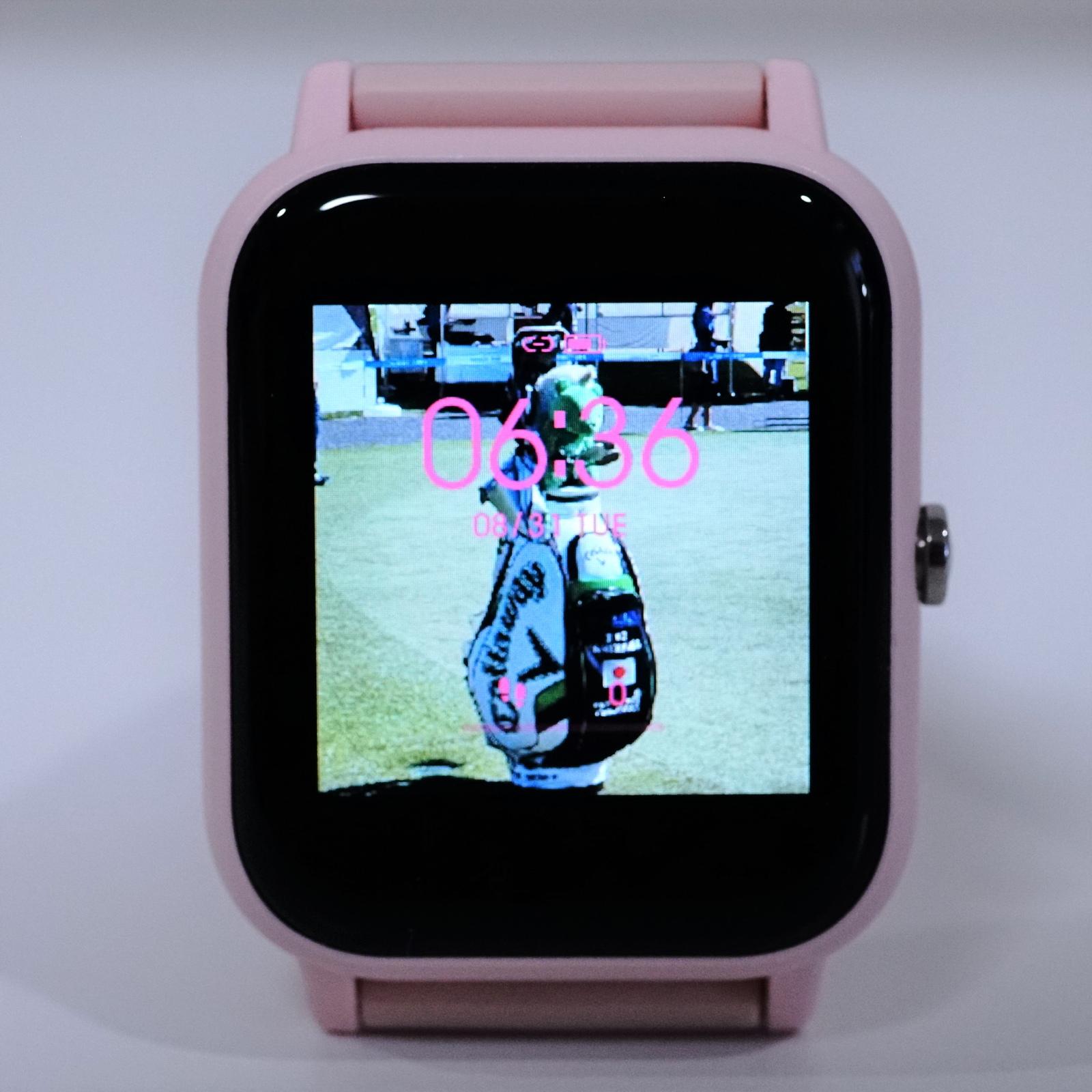 Blackview R3レビュー お気に入りの写真を時計のフェイスに設定可能