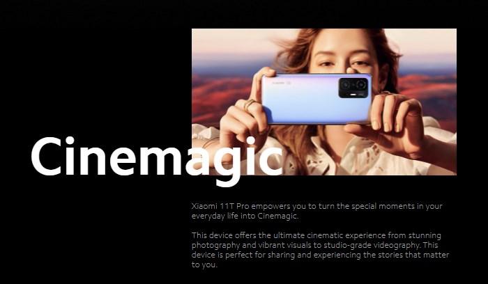 プログレードのHDR10+撮影に対応した108MPリアカメラ