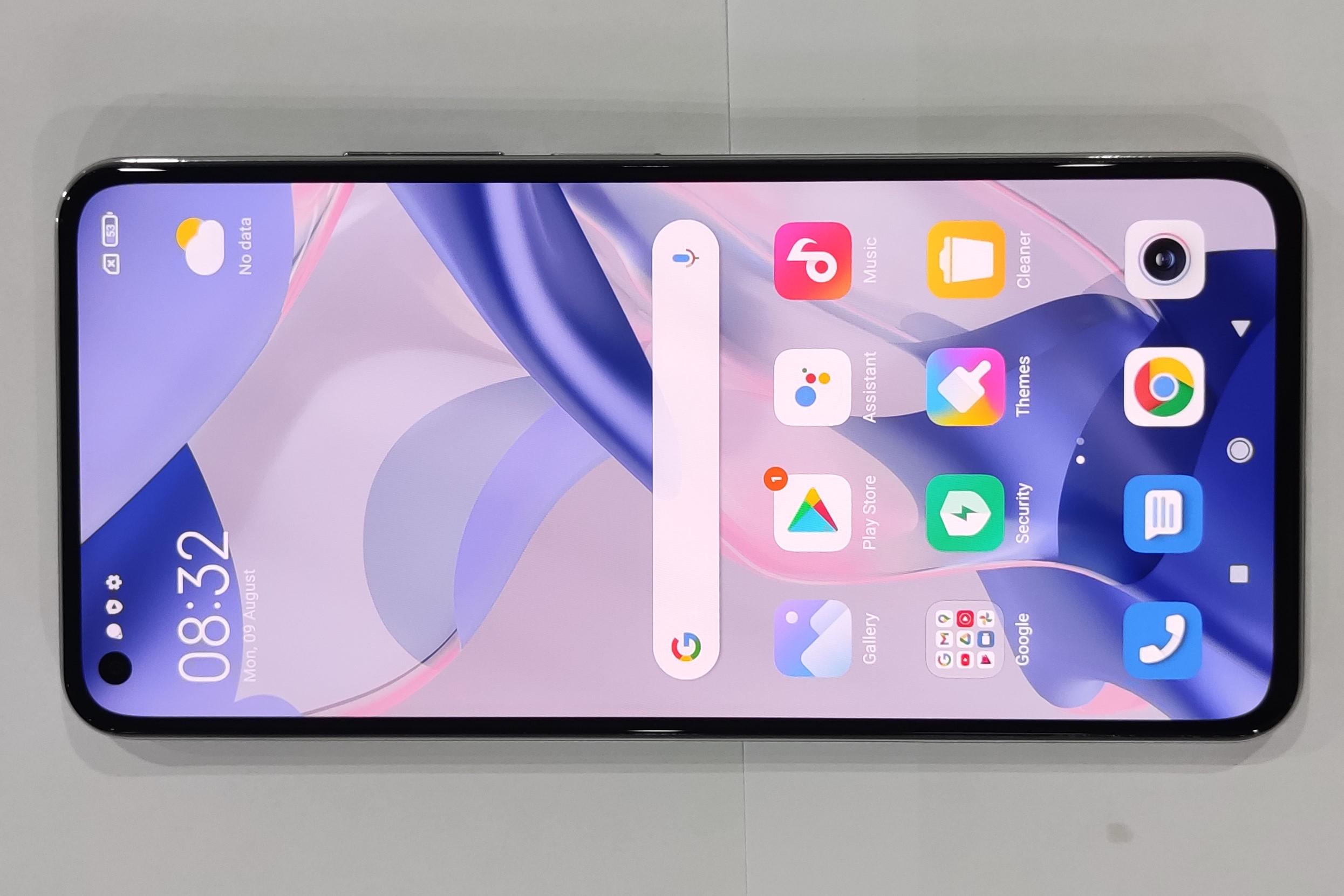 Xiaomi 11 Lite 5G NEの実機写真
