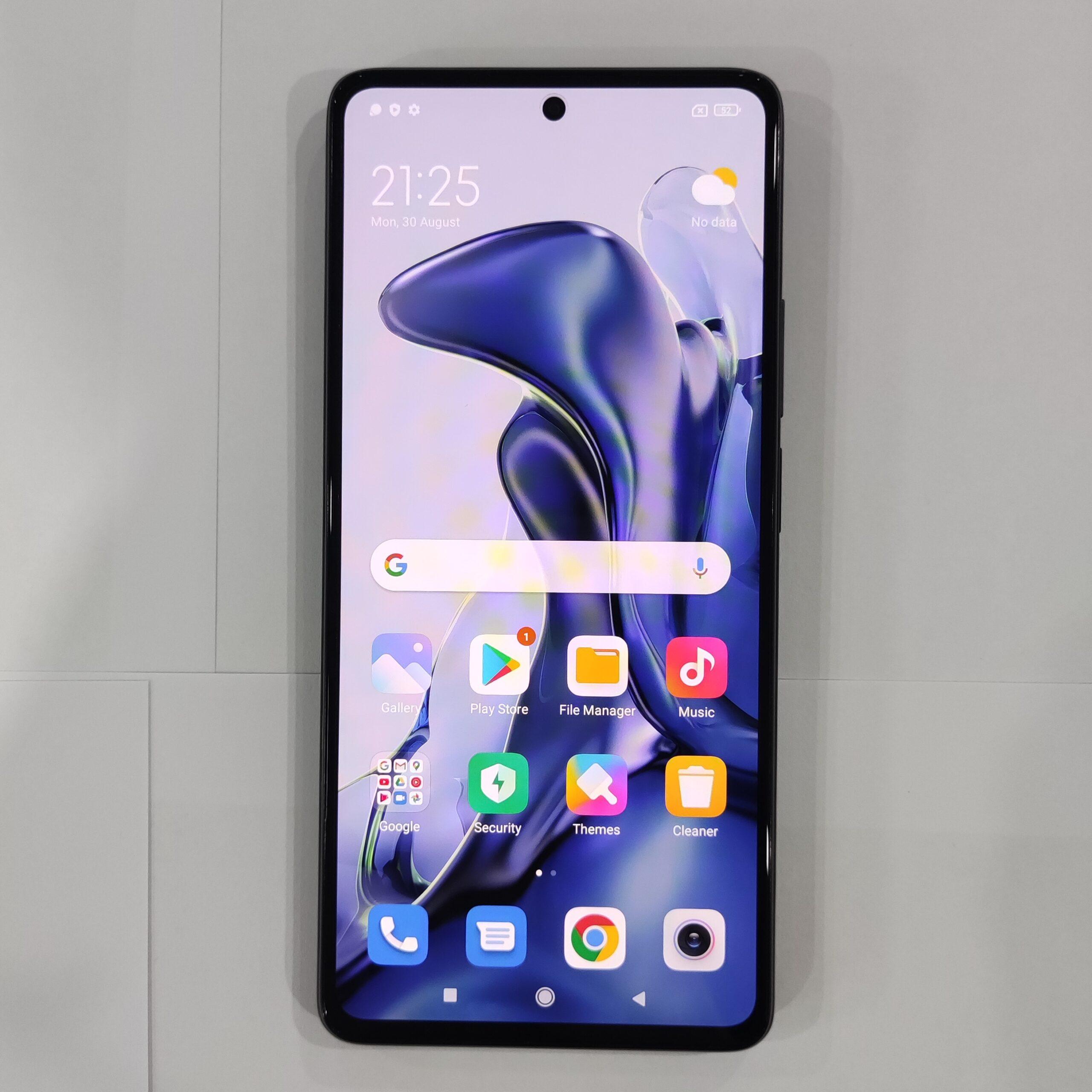 Xiaomi 11Tの実機写真