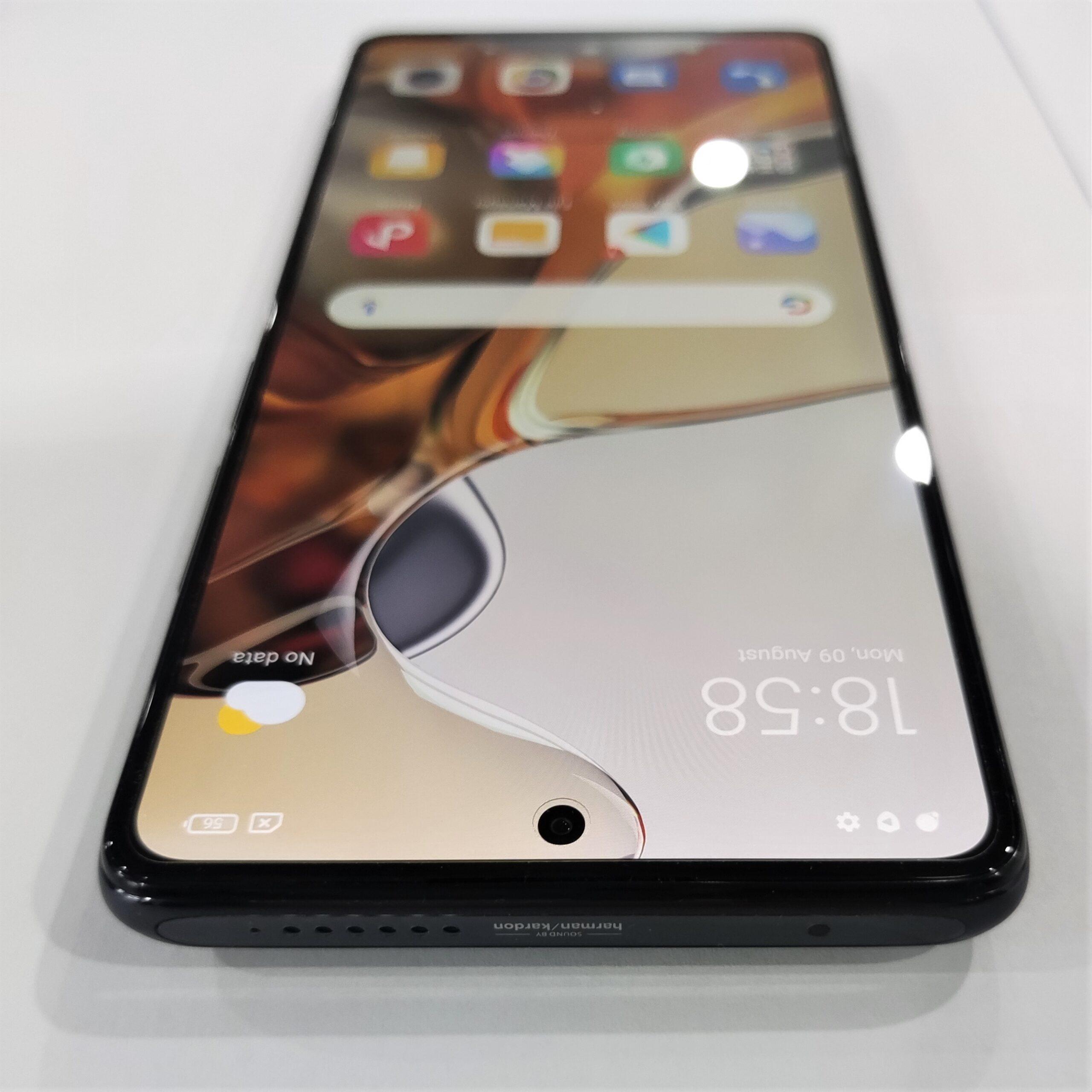 Xiaomi 11T Proの実機写真
