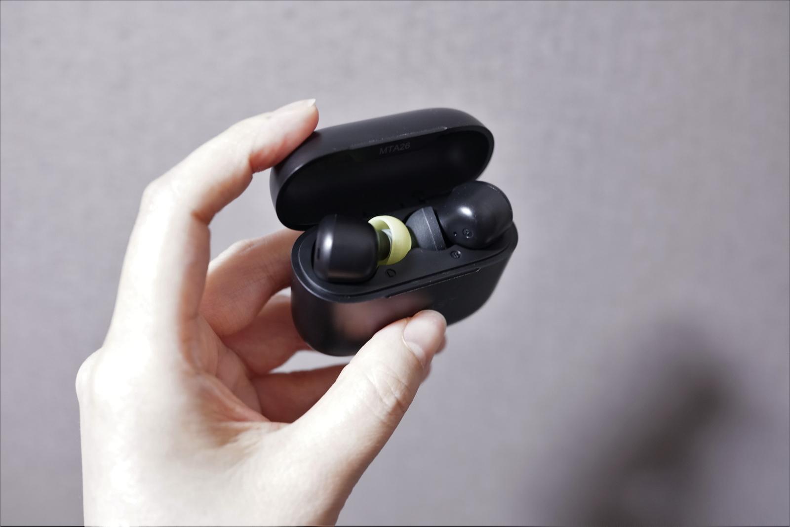 ACEFAST T1の装着感・他社製のイヤーピースとの互換性について