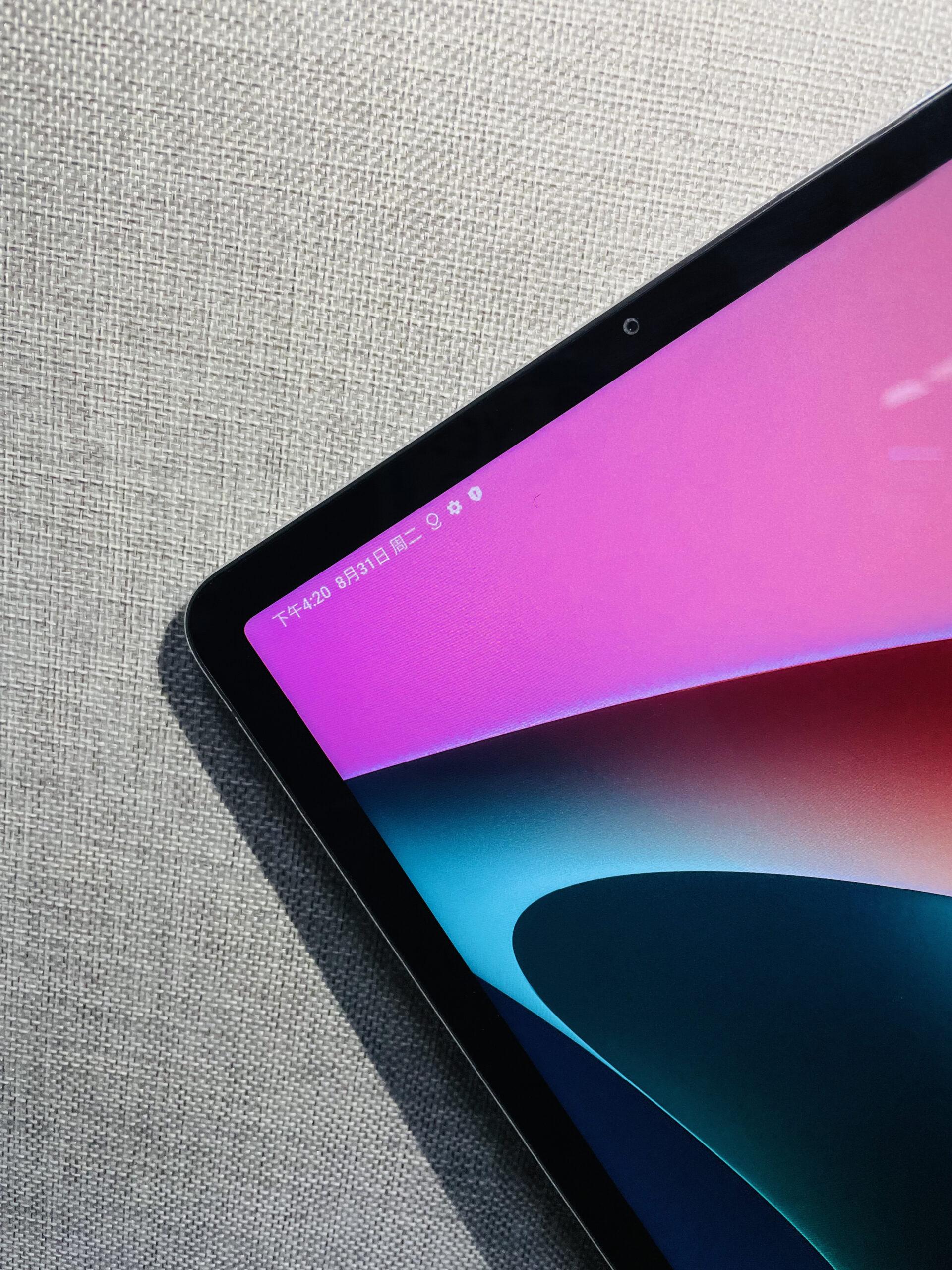Xiaomi Pad 5 の実機写真